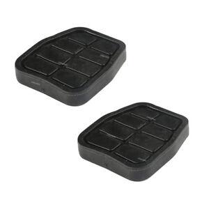 Pair Brake Clutch Pedal Pad Cover For VW Passat Golf Jetta AUDI Porsche