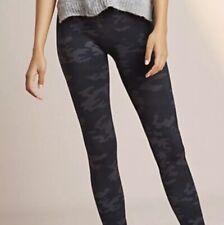 7ebc2e75a NWT Spanx Look At Me Now Seamless Leggings Black Camo Size M