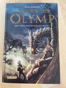 Helden des Olymp 01: Der verschwundene Halbgott von Rick Riordan (2012,...