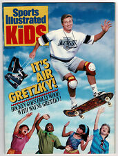 1989 Sports Illustrated For Kids #2, Gretzky Cover & Story, Insert Cards, Jordan