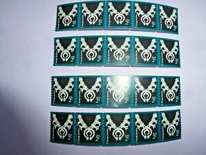 2 Cent NAVAJO NECKLACE Stamps 2004 / 2011  USPS Used For Postage Mint Set Of 20
