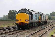 British Rail / DRS 37612 & 37611 (6M63) Rail Photo