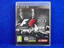ps3 F1 2013 Formula 1 One The Official Racing Game Playstation PAL REGION FREE