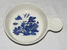"Blue Willow Pantry Collection Heritage Mint Stoneware 5.3/4"" Nappy"