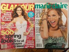 2006 Glamour & Marie Claire  Magazines-Sarah Jessica Parker Covers