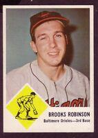 1963 FLEER BROOKS ROBINSON CARD NO:4 NEAR MINT CONDITION