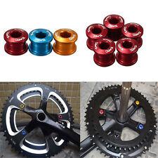 5 Pcs Alloy Token Chain Ring Crankset Bolt Screws Mountain MTB Bike Bicycle 3R