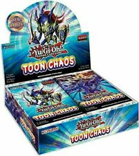 YUGIOH! TOON CHAOS BOOSTER BOX 1ST EDITION FACTORY SEALED NEW