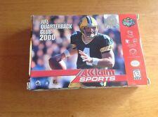 NFL Quarterback Club 2000 Nintendo 64 In Box