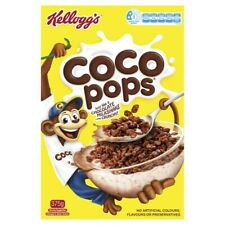 Kellogg's Coco Pops Chocolatey Breakfast Cereal 375g