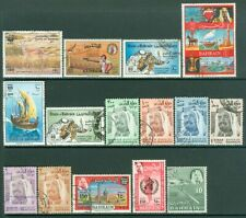 EDW1949SELL : BAHRAIN Neat, ALL DIFF collection of VF Used Better value Cat $128