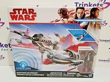 Star Wars The Last Jedi Resistance Ski Speeder Vehicle Captain Poe Dameron