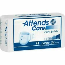 Attends Poly Briefs Large BR30 Case of 72
