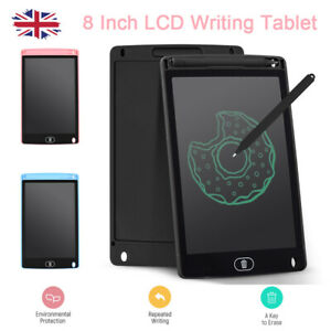 8 Inch LCD Writing Tablet Pad Drawing Board Digital Kid Notepad with Stylus