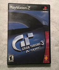 Gran Turismo 3 A-spec Video Game - PlayStation 2, 2006 . Tested Works Great!