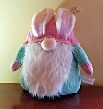 Gnome Easter Bunny Ears Pink and Green Bunny Boulevard 17'' New
