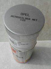 BOMBE PEINTURE ASTROSILBER  METALLISEE  marque OPEL code couleur 128