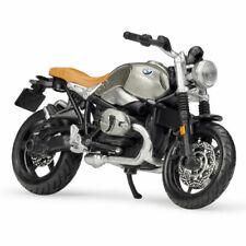1:18 BMW R Nine T Scrambler Motorrad Modell Die Cast Spielzeug Sammlung Siber