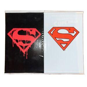 Superman #75 Death of Superman Black And White Superman #500 Memorial Comic mint