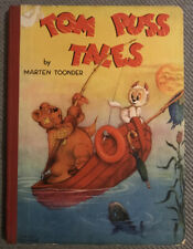 TOM PUSS TALES BY MARTEN TOONDER. 1ST EDITION BOOK 1948 BIRN BROTHERS, LONDON