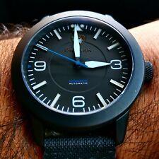 RARE DRAKEN Peregrine watch – DLC case, black dial