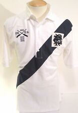 POLO RALPH LAUREN men Big & Tall Mesh POLO SHIRT Rowing Sash Banner Stripe 2XLT