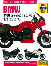 BMW K100LT K100RT K100RS K75RT K75S K75C 1983-1996 Haynes manual 1373 NEW