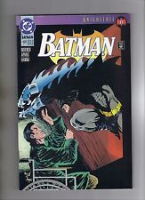BATMAN #499 - JIM APARO ART - KELLEY JONES COVER - BANE APP. - 1993