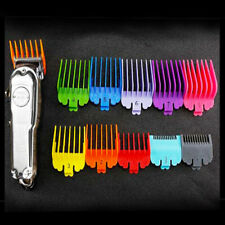 Professional Wahl Hair Clipper Comb Guide Attachment 10Pcs/set |Kit Multi-Colors