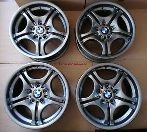 "4 Jantes Orig BMW Style 68 17"" Ferric Grey I Serie 3 E46 36112229180/36112229135"