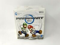 Mario Kart Wii With OEM Wheel Nintendo Wii Complete Boxed Tested