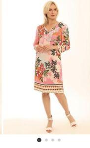 Pomodoro Jasmine Rose Print Tunic 92001.