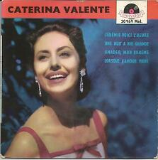 CATERINA VALENTE Jeremie voici l'heure FRENCH EP