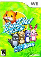 ZhuZhu Pets Featuring the Wild Bunch Nintendo Wii