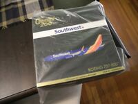 REDUCED VERY RARE GEMINI 1/200 BOEING 737-800, Southwest Airlines, 1/200 NIB