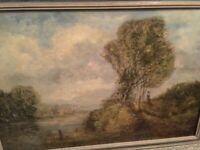 Henry Martin Signed British Framed Oil(1835-1908)