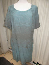 Vestiti da donna blu in lino taglia L