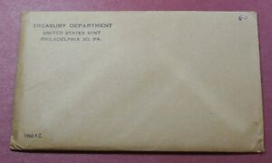 1960 LD or SD 90% SILVER US Mint PROOF Set  * 5 PC - Sealed Set