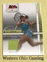 2007 ACE Authentic Ai Sugiyama #1 Tennis Shirt Jersey Card
