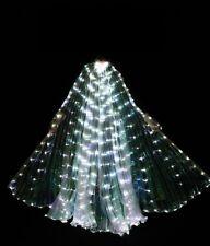 S001 LED Isis Wings Bauchtanz Club Licht Show Kostüm Ägyptische Flügel 7 Farben