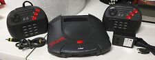Atari Jaguar Video Game Console - Complete/Tested - 2 Controllers & Hook-ups