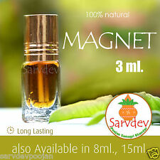 3ml MAGNET Itra attar Pure Apparel Concentrated Perfume Roll on Premium Quality
