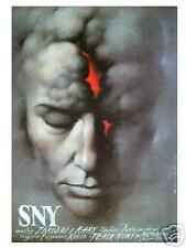Polish poster by Wieslaw Walkuski