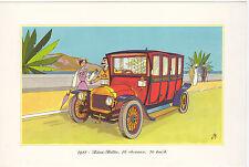 ILLUSTRATION - Automobile - Publicité - 1911 - Léon-Bollée, 16 Cv, 70 km/h.
