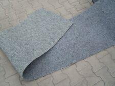 Sonderposten Kunstrasen DELUXE ca. 66 cm x 5 Meter Farbe grau Rasenteppich