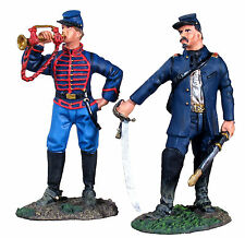 BRITAINS SOLDIERS 31136 - Union Artillery Command Set No.1, Officer and Bugler