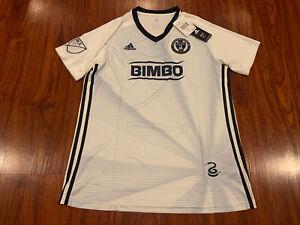 2019 Adidas Women's Philadelphia Union Away Soccer Jersey Large L US MLS