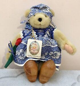 Vintage 1992 Muffy VanderBear Fan Club Dutch Treat Muffy Collection Bear