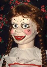 "HAUNTED Annabelle Doll  ""EYES FOLLOW YOU""   Halloween prop curiosity oddity OOAK"