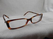 Tiffany & Co. TF2035 8107 eyeglass Frames  Havana Italy RX Silver Hearts
